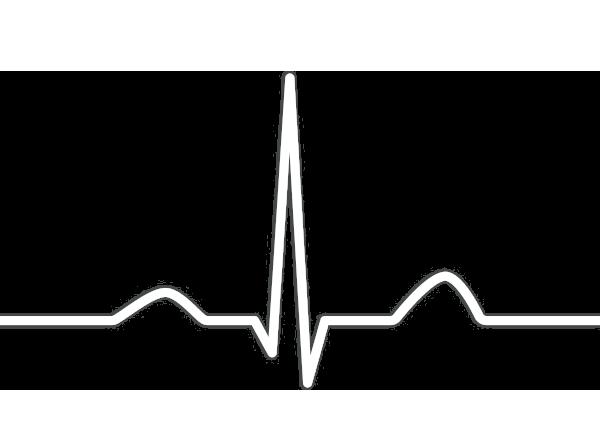 Belastungs-EKG auf dem Ergometer-Fahrrad