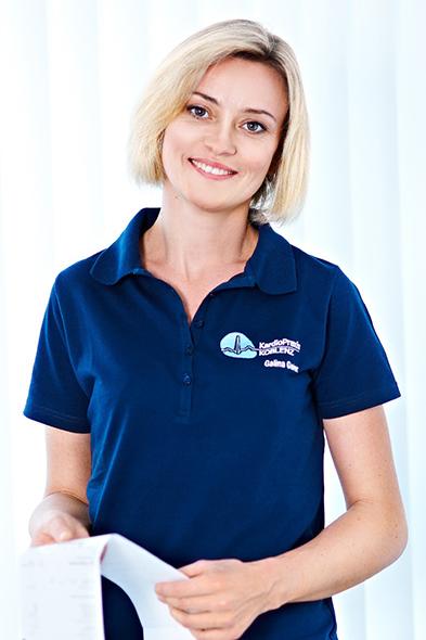 Galina Geier | Mitarbeiterin der Kardio-Praxis Koblenz