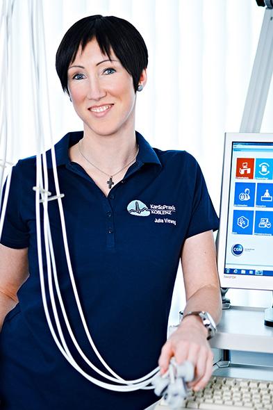 Julia Viehweg | Mitarbeiterin der Kardio-Praxis Koblenz